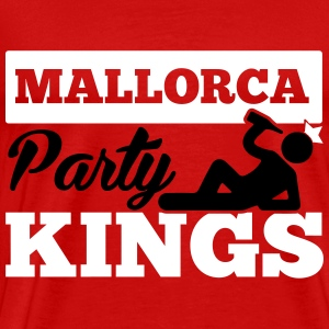 MALLORCA PARTY KINGS T-shirts - Mannen Premium T-shirt