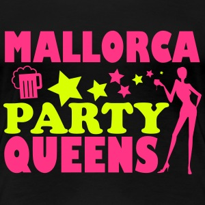 MALLORCA PARTY QUEENS T-shirts - Vrouwen Premium T-shirt