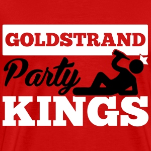 GOLDSTRAND PARTY KINGS T-shirts - Mannen Premium T-shirt
