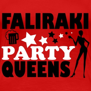 FALIRAKI PARTY QUEENS Camisetas - Camiseta premium mujer