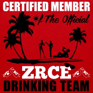 Certified member of the ZRCE drinking team Sportbekleidung - Männer Premium Tank Top