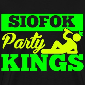 SIOFOK PARTY KINGS T-shirts - Mannen Premium T-shirt
