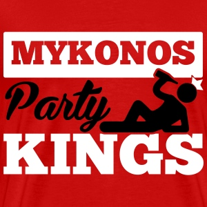 MYKONOS PARTY KINGS T-shirts - Mannen Premium T-shirt