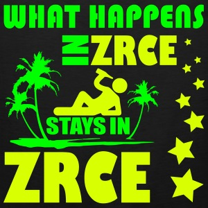 WHAT HAPPENS IN ZRCE STAYS IN ZRCE Ropa deportiva - Tank top premium hombre