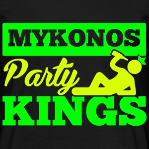 MYKONOS PARTY KINGS Tee shirts - T-shirt Homme
