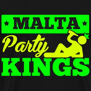 MALTA PARTY KINGS T-Shirts - Men's Premium T-Shirt