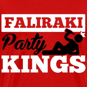 FALIRAKI PARTY KINGS T-shirts - Mannen Premium T-shirt