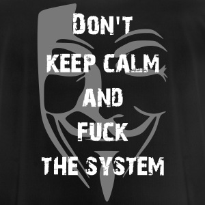 fuck the system Tee shirts - T-shirt respirant Homme