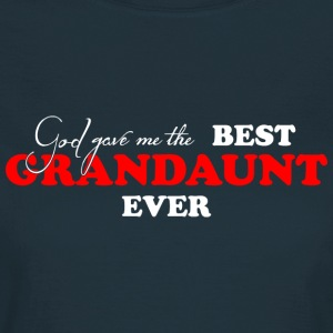 Best Grandaunt Ever (dark) T-skjorter - T-skjorte for kvinner