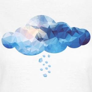 Cloud (Polygon Style) T-Shirts - Women's T-Shirt