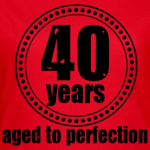 40 years Aged to T-Shirts - Frauen T-Shirt