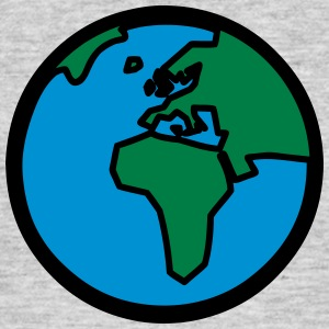 World Globe T-shirts - T-shirt herr