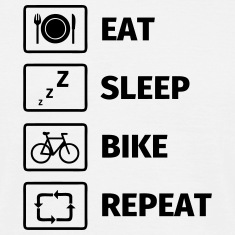 Eat Sleep Bike Repeat T-Shirts