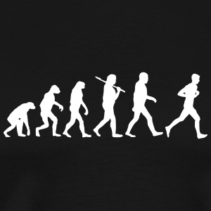 evolution of jogging T-Shirts - Männer Premium T-Shirt