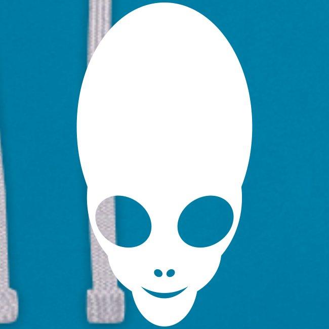 Alien Design Motiv - Kapuzenpullover