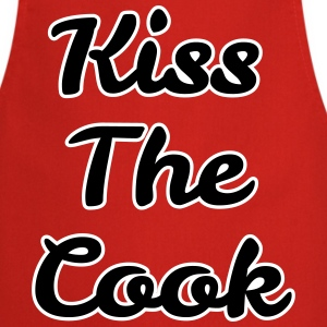 kiss the cook  Aprons - Cooking Apron