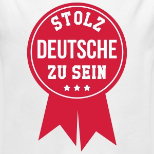 Deutscher Deutsche Deutsch Patriot Deutschland Baby Bodys - Baby Bio-Langarm-Body