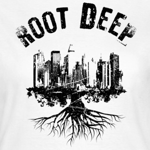 Root deep Urban schwarz T-shirts - Vrouwen T-shirt