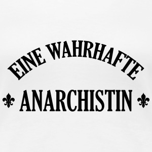 Anarchist Anarchistin Anarchie Punk No Future T-Shirts - Frauen Premium T-Shirt