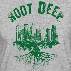 Root deep urban green T-Shirts - Women's Organic T-shirt
