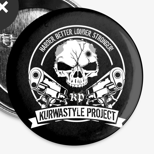 Kurwastyle Project Buttons