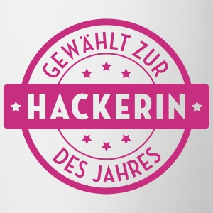 Hacker - Hackerin - Hacking - Geek - Computerfreak Tassen & Zubehör - Tasse