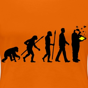 evolution_of_man_imker01_2c T-Shirts - Frauen Premium T-Shirt