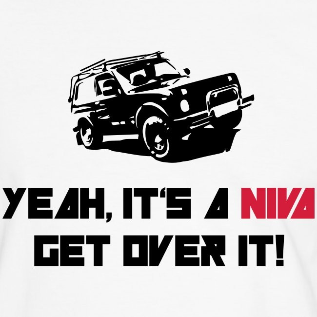 Herren-Shirt: GET OVER IT!