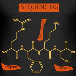 Sequencing - Men's Slim Fit T-Shirt