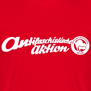 Antifaschistische Aktion T-Shirts - Männer T-Shirt