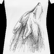 Motiv ~ Heulender Wolf, Shirt
