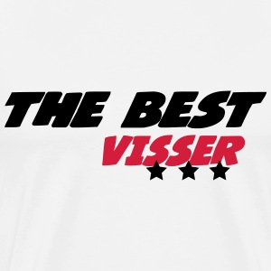 The best visser T-shirts - Mannen Premium T-shirt