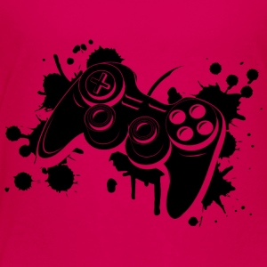 Gamepad Graffiti T-Shirts - Teenager Premium T-Shirt