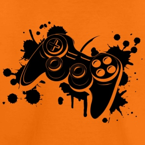 Gamepad Graffiti T-Shirts - Kinder Premium T-Shirt