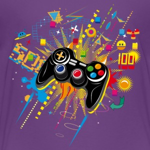 Gamepad Videogames T-Shirts - Teenager Premium T-Shirt