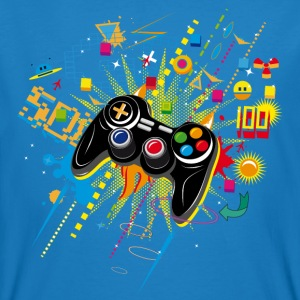 Gamepad Video Games T-Shirts - Men's Organic T-shirt