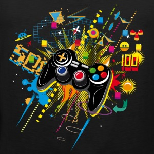 Gamepad Video Games Sports wear - Men's Premium Tank Top
