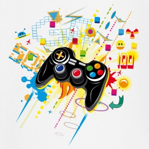 Gamepad Video Games Tee shirts manches longues Bébés - T-shirt manches longues Bébé