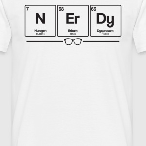 Nerdy elements - Men's T-Shirt