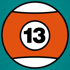 Billiard Ball Number 13 - V3 T-Shirts - Men's T-Shirt