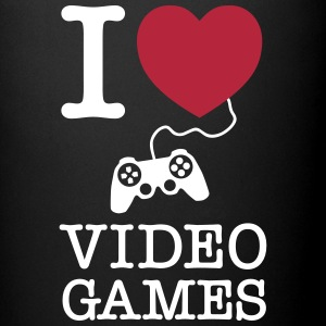 I Love Video Games Tazze & Accessori - Tazza monocolore