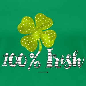 100% Irish T-Shirts - Frauen Premium T-Shirt