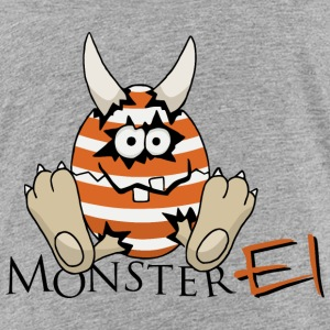 Oster Monster-Ei T-Shirts - Kinder Premium T-Shirt
