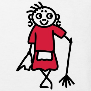 Cleaning lady - V2 Shirts - Kids' Organic T-shirt
