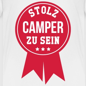 Camper - Camperin - Camping - Wohnmobil - Zelt T-Shirts - Teenager Premium T-Shirt