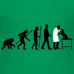 evolution_of_man_tierarzt03_2c T-Shirts - Teenager Premium T-Shirt