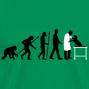 evolution_of_man_tierarzt01_2c T-Shirts - Männer Premium T-Shirt