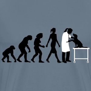 evolution_of_woman_tierarztin02_2c T-Shirts - Männer Premium T-Shirt
