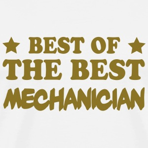 Best of the best mechanician T-shirts - Herre premium T-shirt