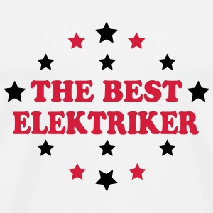 The best elektriker T-skjorter - Premium T-skjorte for menn